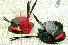 How To Make Tiny Hats Bobby Pins #millinery #hat #judithm #diy