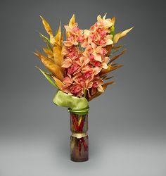 Fall Cymbidium   L'Olivier Floral Atelier
