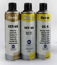 Oleje Kema z certyfikatem NSF - dla przemysłu spożywczego, medycznego i farmaceutycznego #KEMA #NSF #smarowanie