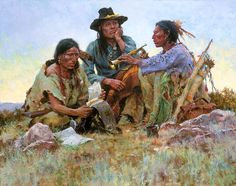 Found on the Field of Battle by Howard Terpning ~ Native Americans Old West