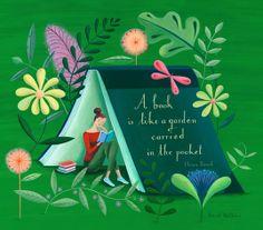 sarah wilkens garden in my pocket