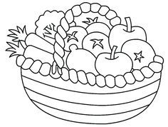 Printable Fruit Coloring Pages For Kids Fruits Pinterest Fruit