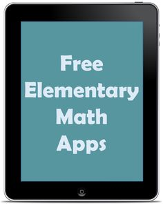 Free Elementary Math Apps | Rachel K Tutoring Blog