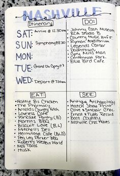 Plan your next vacation in your bullet journal! This quick and easy spread has everything you need!