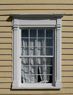 12 over 12 window panes