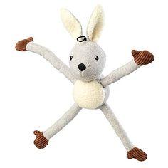 Tweed Grey Rabbit Dog Toy | Dunelm Modern Dog Toys, Tug Of War, Pet Care, Tweed, Rabbit, Arms, Snoopy, Puppies, Disney Characters