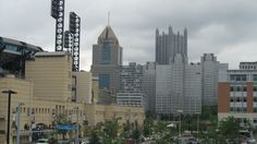 closer view of Down Town Pittsburgh