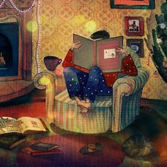 "Children's book ""Poems to holidays"" on Behance"