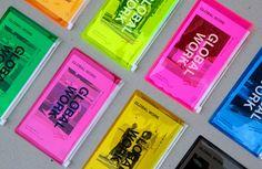 裝進彩色資料袋的目錄設計 | MyDesy 淘靈感