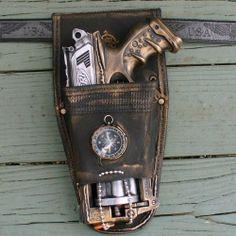 Steampunk gun HOLSTER BELT Victorian Nerf N-Strike Maverick Zombie Soft Dart toy OldJunkyardBoutique,http://www.amazon.com/dp/B007KT67WY/ref=cm_sw_r_pi_dp_hlKfsb00T9BHYJBH