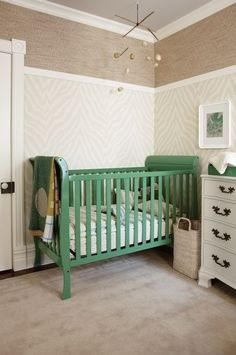 Thinking of repainted the crib this color.