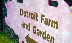 The Michigan Urban Farming Initiative is debuting a sustainable urban agrihood in Detroit, and are transforming an abandoned building into a community center.