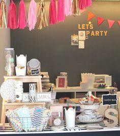Nuestro Showroom en Barcelona de productos de fiesta y bodas más Chic