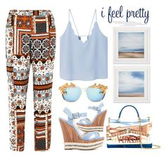 """""""I Feel Pretty"""" by emcf3548 ❤ liked on Polyvore featuring River Island, MANGO, Dolce&Gabbana and MOO"""