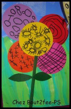 L'abeille butine la fleur - Les petits bout 2 fee