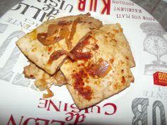Tofu marinato e spadellato ;-)
