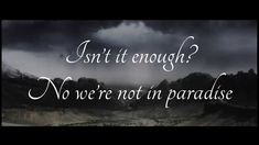 Within Temptation ft. Tarja - Paradise (What About Us?) [Lyrics on screen]