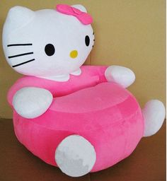 Kids Stuffed Animal chair sofa hello kitty