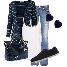 Navy, created by honeybee20 on Polyvore
