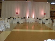 Love this back drop Floor To Ceiling Windows, Small Groups, Banquet, Backdrops, Formal Dresses, Home Decor, Homemade Home Decor, Formal Gowns, Black Tie Dresses
