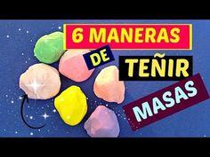 MANUALIDADES 6 MANERAS DE TINTAR PORCELANA FRIA, CON PINTURAS ECONOMICAS - TINT COLD PORCELAIN - YouTube