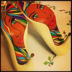 Colorful shoe sole