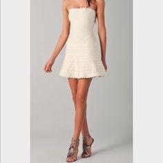 Sale!!Herve Leger Strapless Dress