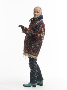 Kenneth D. King's Kilim Carpet Coat: The Big Finish - Threads