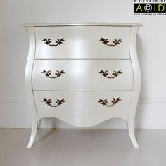 curvy three drawer chest by out there interiors | notonthehighstreet.com
