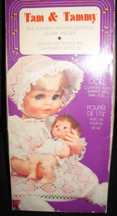 Vintage Tam & Tammy - Baby Dolls Musical Wind-Up Rocking Lullaby Mama and Baby - 1960s/1970s on Etsy, $35.00