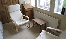 Crescent Counselling and Psychotherapy ~ therapy rooms