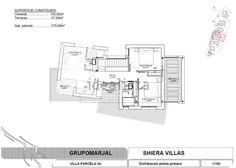 Imagen Plano de casa o chalet independiente en calle Londres , 52, Golf Bahía, Finestrat