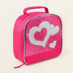 girl - sequin heart lunchbox | Children's Clothing | Kids Clothes | The Children's Place