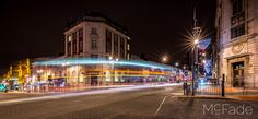 Vicar lane and Headrow - leeds at night - west yorkshire uk -93 photos I have been working on in Lightroom