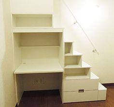 ロフト用家具階段 収納階段キット