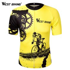 Item Type: JerseysSport Type: Cyclingis_customized: YesFeature: Breathable,Quick Dry,Reflective,Anti-sweat,PocketsGender: MenBrand Name: West BikingFabric Type: Cycling Bib Shorts, Cycling Outfit, Bicycle Pants, Sport Outfits, Summer Outfits, Bike Wear, Cycling Bikes, Cycling Art, Cycling Jerseys
