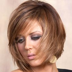 Highlighted Shag Hairstyle