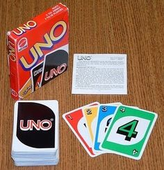 UNO. Fave past time at work. =)