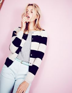 I've spotted this @BodenClothing Striped Cashmere Cardigan