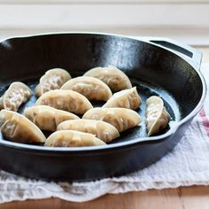 how to make Asian dumplings from scratch