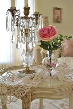h o m e . s w e e t . h o m e - love the chandelier and the table details
