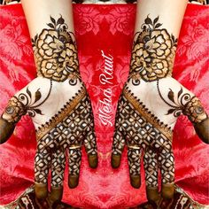 10 Best Mehndi Designs Name List Which are in Trend of 2018 Unique Mehndi Designs, Wedding Mehndi Designs, Mehndi Designs For Fingers, Beautiful Henna Designs, Henna Tattoo Designs, Hena Designs, Mehndi Design Pictures, Mehndi Images, Mehndi Desighn
