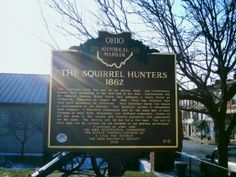 Ripley, OH (Brown County) - Ohio Historical Marker #9 - 8 at the Union Township Library on Main St. with a story from the Cival War.