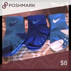 3 pair Nike toddler socks 6-12 months 3 pair Nike toddler socks 6-12 months perfect for baby shower or your own child! Nike Accessories Socks & Tights