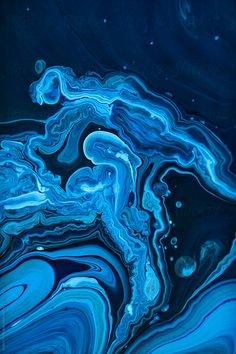 Liquid color waves background by Robert Kohlhuber - Paint, Water - Stocksy United Best Iphone Wallpapers, Blue Wallpapers, Pretty Wallpapers, Astronaut Illustration, Trill Art, Light Blue Aesthetic, Cool Wallpaper, Black Wallpaper, Waves Background