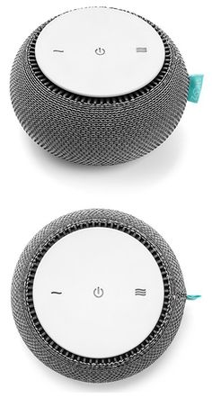 Can't sleep? Get help from the Snooz App-controlled White Noise Machine. #affiliate