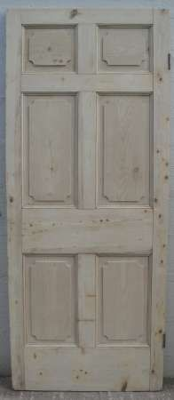 6 Panel Pine Doors U2013 Abergavenny Reclamation