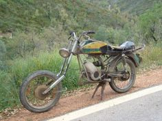 Famel Mirage 50 cc (Made in Portugal) - Zündapp engine - customized wreck. :)