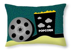 An special pillow for #movie fans #popcorn #cinema @fineartamerica