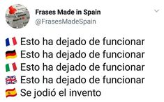 New Humor Espaol Frases Ideas Funny V, Funny Texts, Funny Quotes, Life Quotes, Hair Quotes, Buzzfeed Funny, Inspirational Phrases, Spanish Memes, Inspirational Quotes